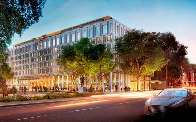 Chipperfield conservará la fachada de este edificio icónico -es una...