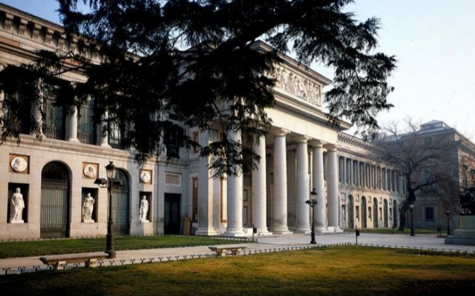 Fachada del Museo del Prdo de Madrid