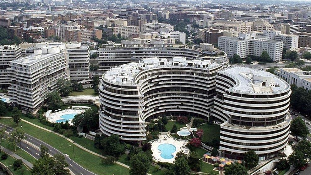 Hotel Watergate, 2650 Virginia Avenue, Washington. Estados Unidos.