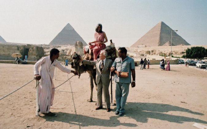 Imagen de las pirámides de Egipto.