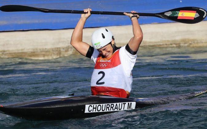 Maialen Chourraut consigue la segunda medalla de oro para España, en...