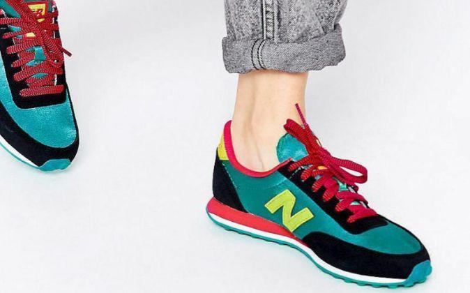 Zapatillas de la marca New Balance.