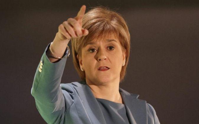La ministra principal escocesa Nicola Sturgeon.
