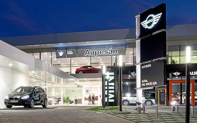 El concesionario Aupesán en Murcia ha reformado sus instalaciones...