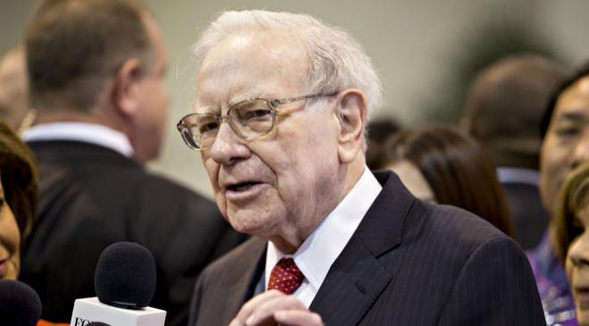 El inversor estadounidense Warren Buffett.