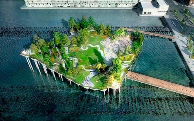 El proyecto reemplazará el deteriorado Pier 54 y los visitantes...