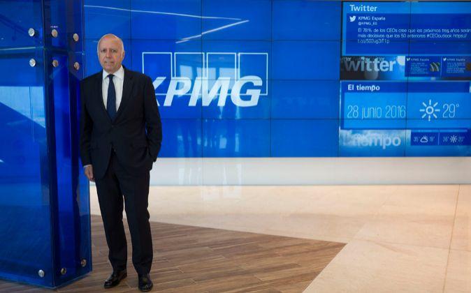 Hilario Albarracín, consejero delegado de KPMG.