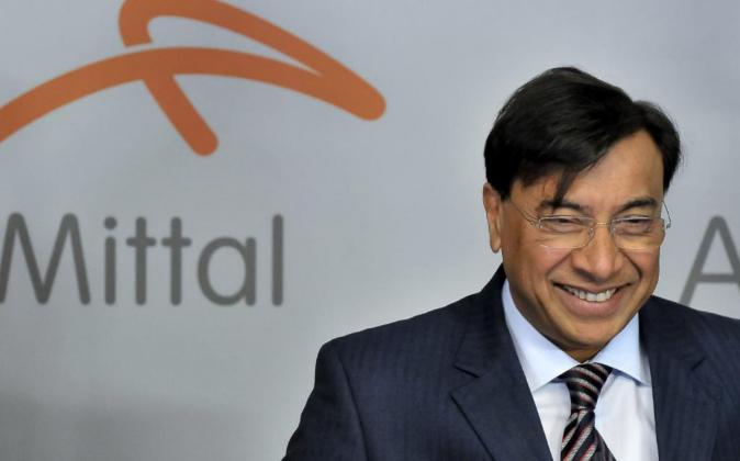 El presidente de la junta directiva de ArcelorMittal, Lakshmi Mittal