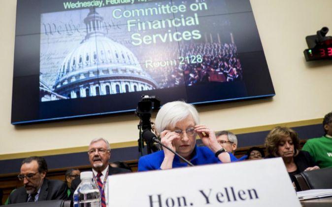 Janet Yellen, presidenta de la Reserva Federal de EEUU.