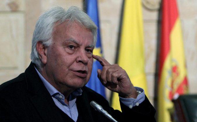 El expresidente socialista Felipe González.