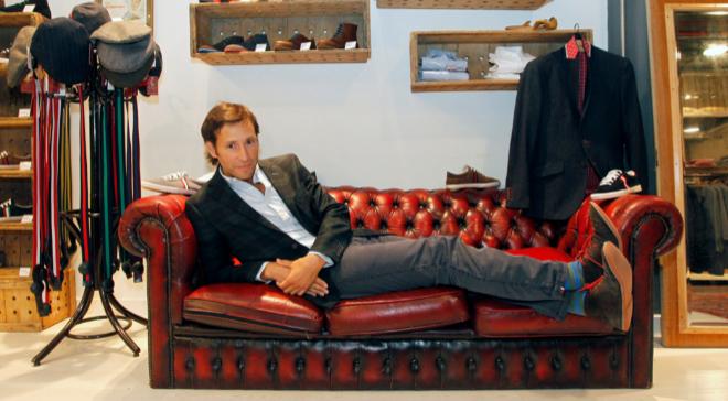 Clemente Cebrián, cofundador de esta marca de moda.