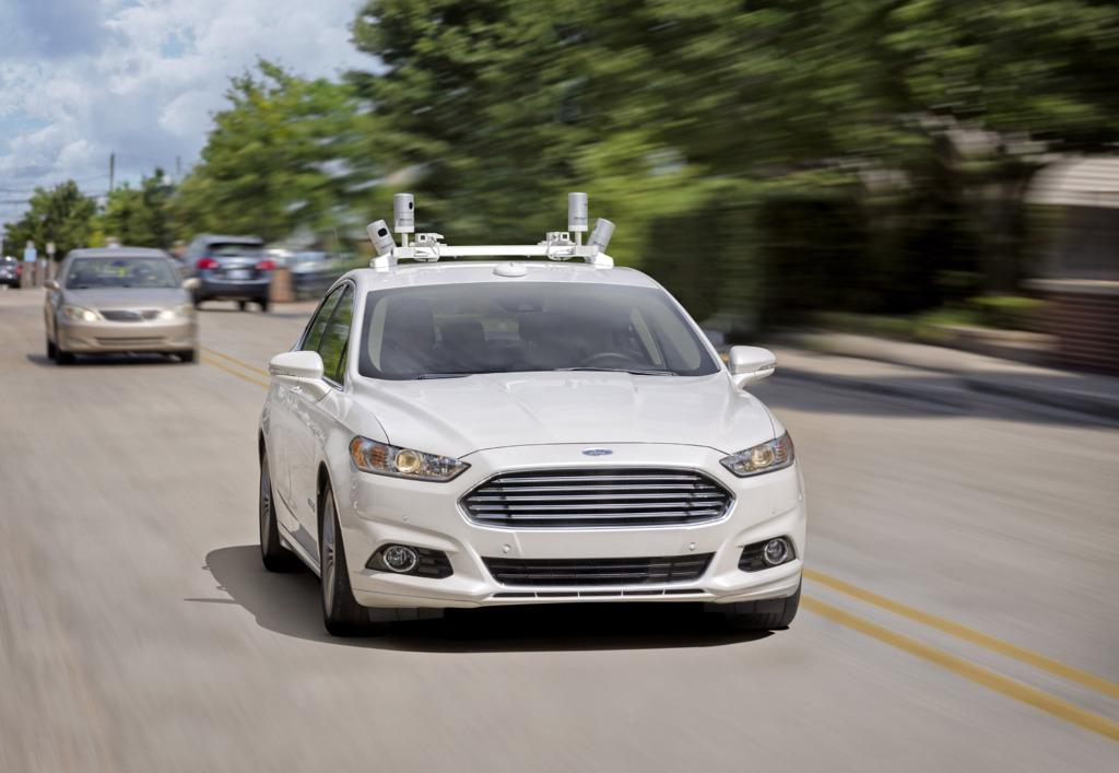 Vehículo autónomo de Ford en pruebas.
