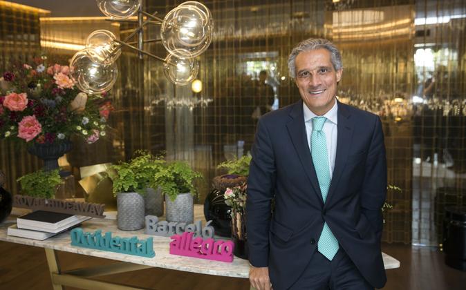 Raúl González,  consejero delegado del Grupo Barceló, asegura que...