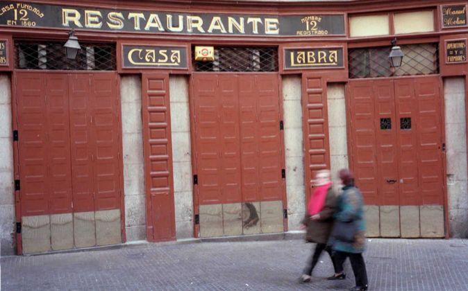 La histórica taberna donde nació el PSOE es, para los usuarios de...