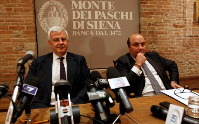 Los dos imputados por las autoridades italianas, Fabrizio Viola y...