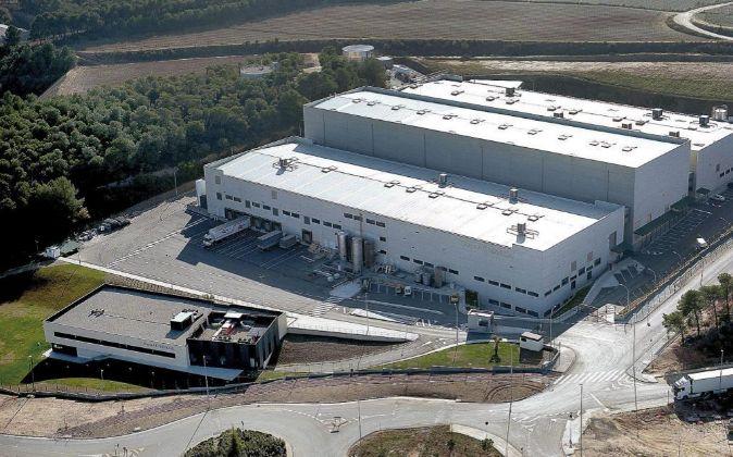 Planta productiva de AC Marca en Sant Llorenç d'Hortons.