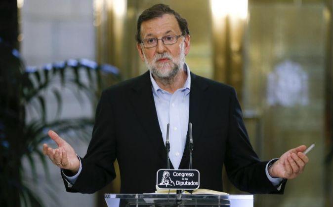 Mariano Rajoy, presidente en funciones del Gobierno de España.