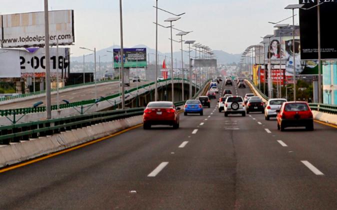 En la imagen, un tramo del Viaducto del Bicentenario, en ciudad de...
