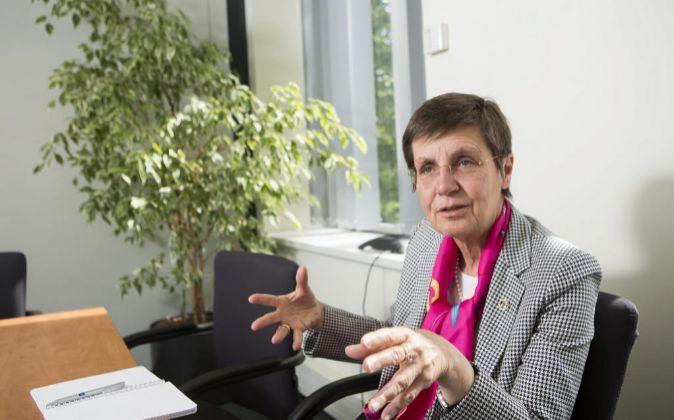 Elke König, presidenta del MUR.
