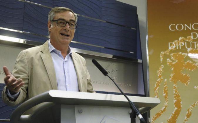El vicesecretario general de Ciudadanos, José Manuel Villegas, que...