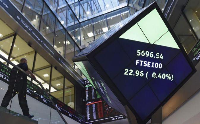 Vista general de la Bolsa de Londres.