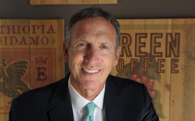 Howard Schultz, presidente de Starbucks.