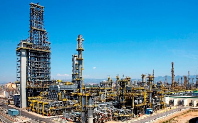 Imagen de archivo de la refinería de BP en Castellón.