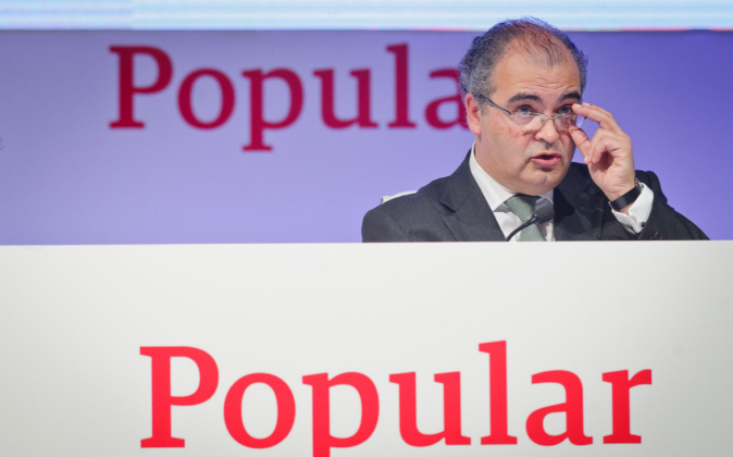 El presidente de Banco Popular, Ángel Ron.