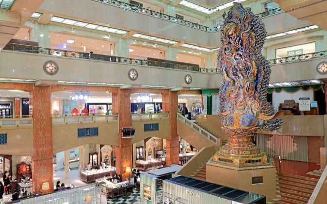 Nihonbashi Mitsukoshi, epicentro de las compras en el barrio, fue el...