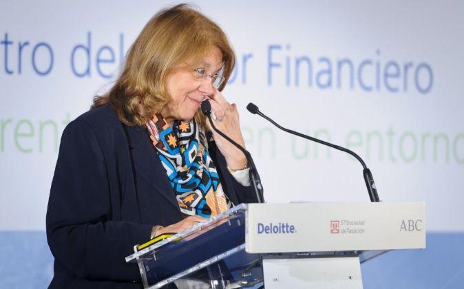 La presidenta de la CNMV, Elvira Rodríguez.
