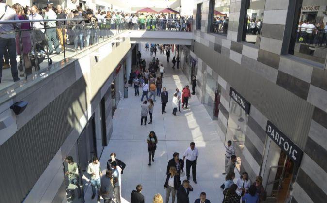 Centro comercial L?Epicentre en Sagunto, Valencia.