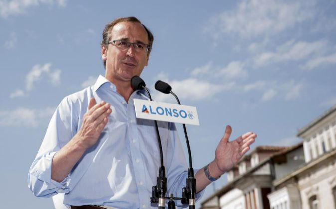 El presidente del PP vasco y candidato a lehendakari Alfonso Alonso.