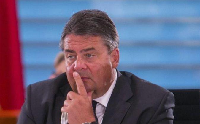 Sigmar Gabriel,ministro de Economía de Alemania.