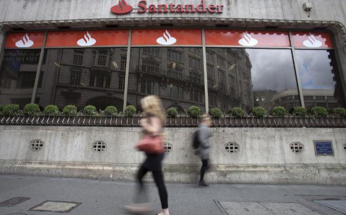 Sucursal de Santander en Londres.
