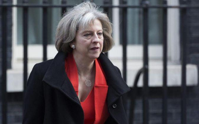 Theresa May, en una foto de archivo.