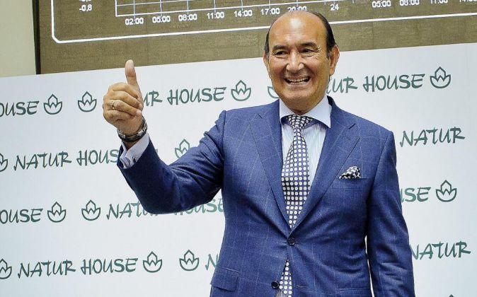 Félix Revuelta durante la salida a Bolsa de Naturhouse.