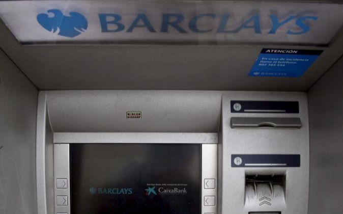 Cajero de Barclays.