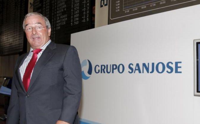 El presidente del grupo San José, Jacinto Rey (ARCHIVO).