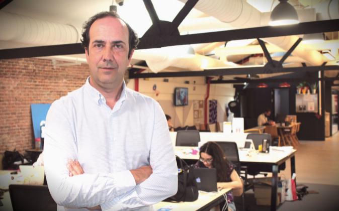 Enrique Ramírez, fundador de Ennomotive, 'start up' que...