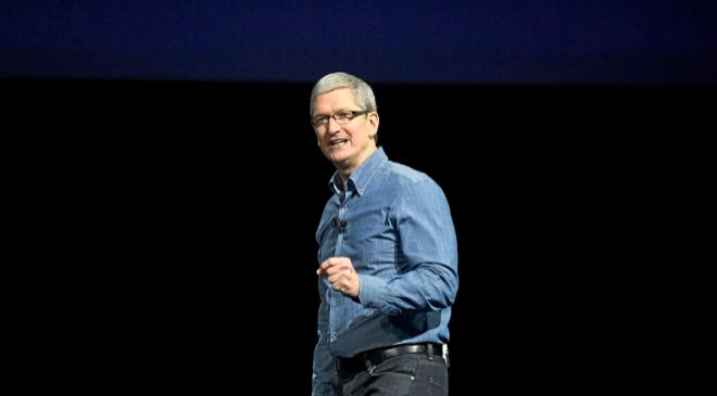 El CEO de Apple, Tim Cook, en una imagen de archivo.