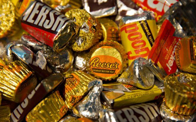 Chocolatinas de la empresa Hershey.