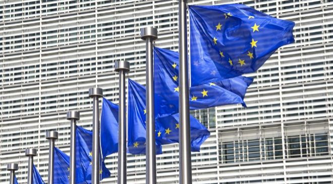 Sede de la Comisión Europea en Bruselas.