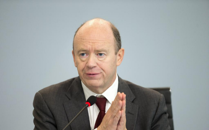 John Cryan, presidente de Deutsche Bank
