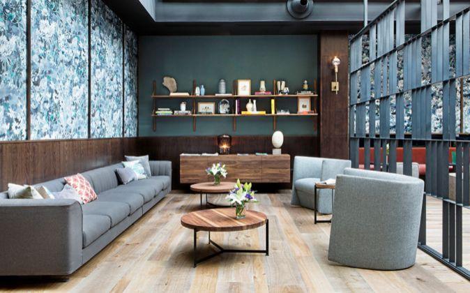 El lounge de Tótem (en la imagen) y el restaurante se llaman...