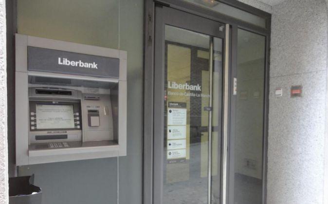 Sucursal bancaria de Liberbank.