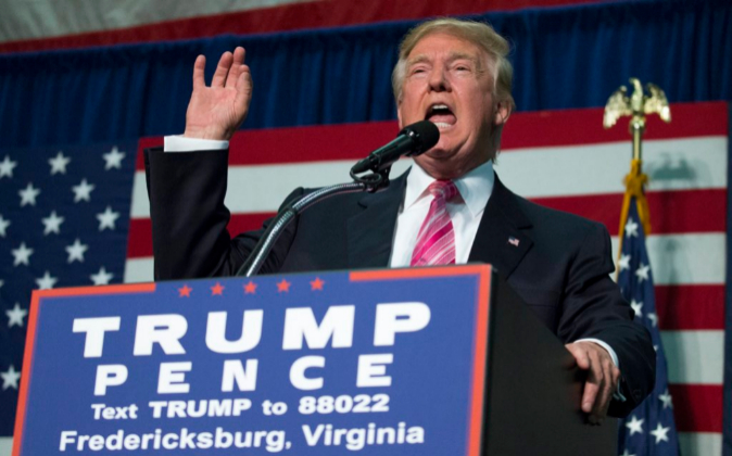 Donald Trump, el candidato republicano a la Casa Blanca.