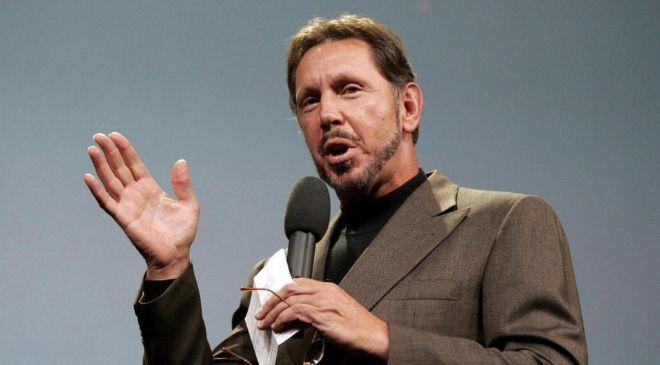 Larry Ellison, presidente y fundador de Oracle