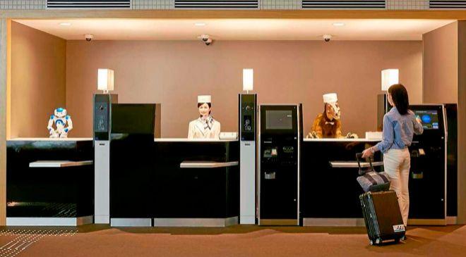 Japón ya ha estrenado su primer hotel gestionado casi exclusivamente...