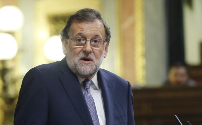 El candidato del PP a la investidura, Mariano Rajoy.