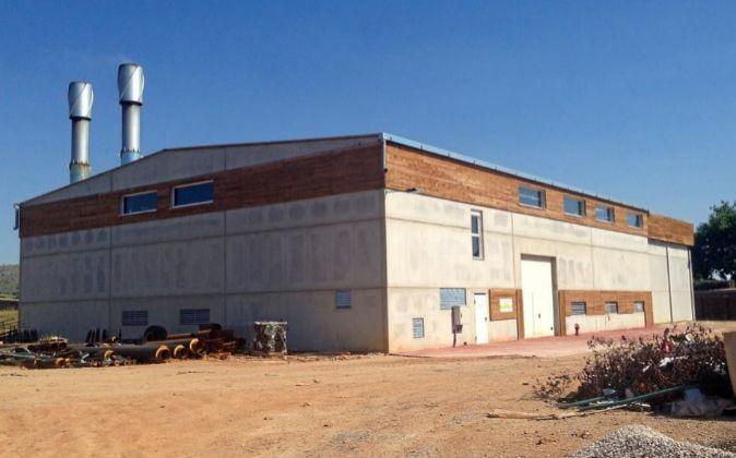 La central de biomasa de Red de Calor de Soria es el...